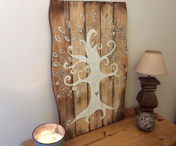Les 25 meilleures id es concernant arbre f erique sur for Peinture cerusee sur bois