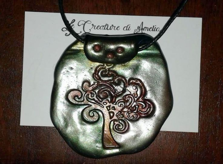 Tree of Life Polymer clay    https://www.facebook.com/Le-Creature-di-Amelia-Antica-Madre-213397572041474/