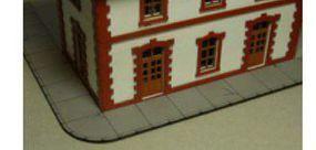 Bachmann Concrete Sidewalk HO Scale Model Railroad Building Accessory #39104