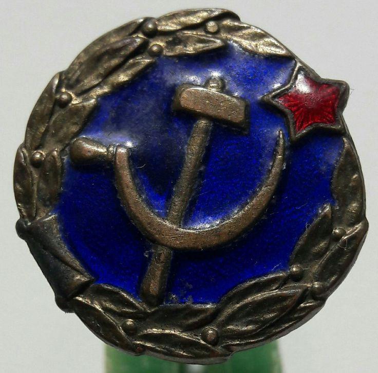 Знак-эмблема сотрудников мест заключения НКВД 30-е годы