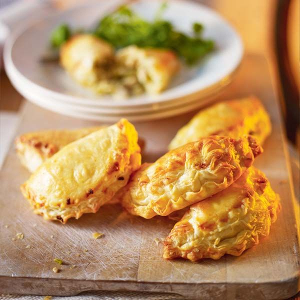 It's a rare person who doesn't love a pasty - especially these, which are a nifty way to use up leftovers from the Christmas lunch.