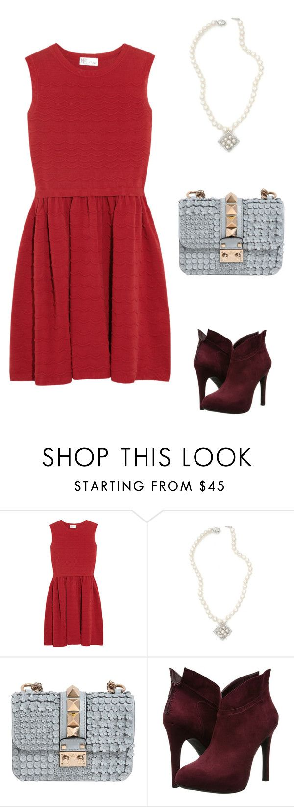 Christmas by dearmissj on Polyvore featuring RED Valentino, Jessica Simpson and Valentino