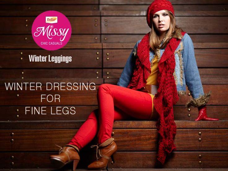 #DollarMissy Winter Leggings For Fine Legs