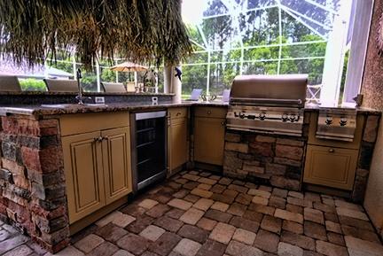 Tropical outdoor kitchen design outdoor kitchen designs pinterest kitchen design gallery - Tropical outdoor kitchen designs ...