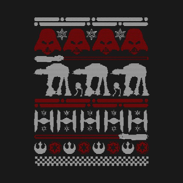 Check out this awesome 'Christmas+on+Hoth' design on @TeePublic!