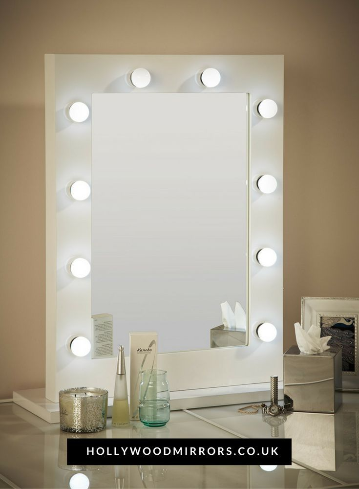 How High Should Vanity Lights Be Hung : 17 Best ideas about Mirror With Light Bulbs on Pinterest Hollywood mirror, Makeup desk and ...