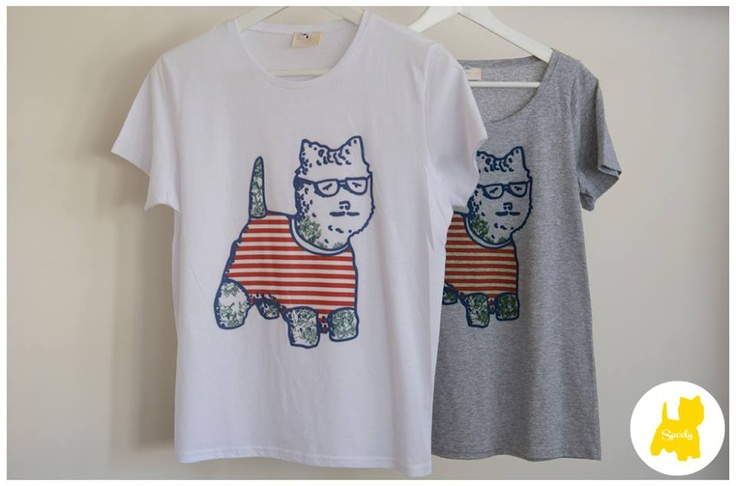 T-shirt stamps for #Spooly's new collection!  © Vicky Lafazani
