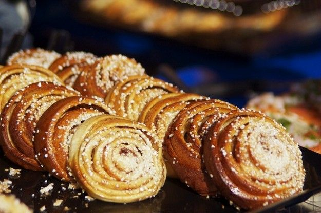 Cinnamon Buns are the cornerstone of Swedish baking. These are a great recipe to prepare in the evening and bake off in the morning for a special holiday (or any day) treat. Recipe from marcussamuelsson.com
