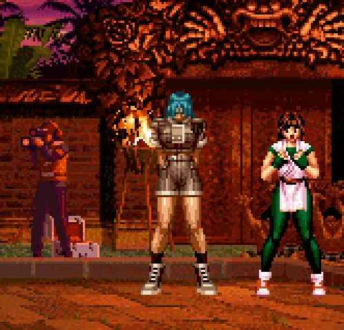 King of Fighter '97, Neo Geo.