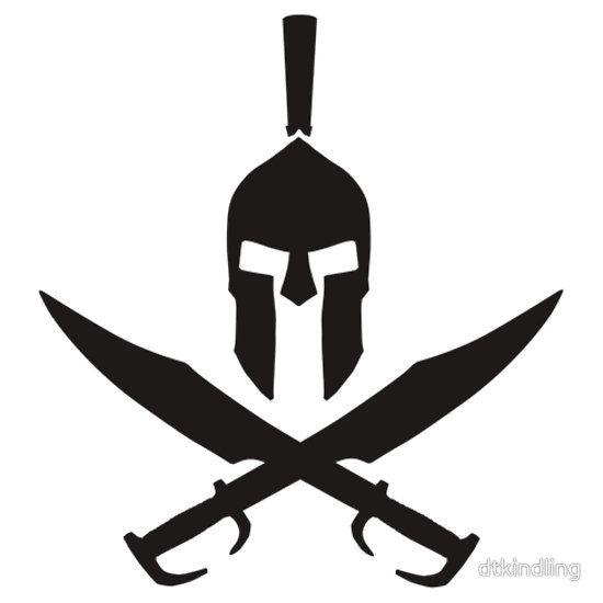 Spartan cross bones