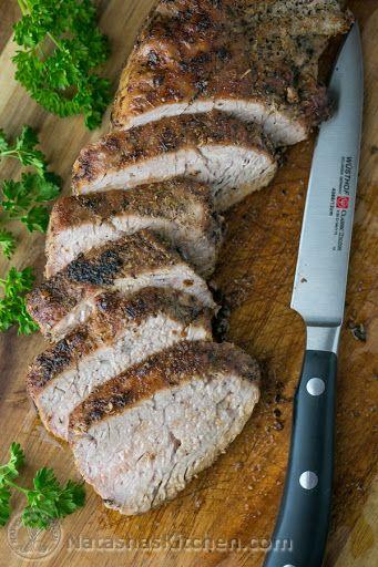 Roasted Pork Tenderloin Recipe on Yummly