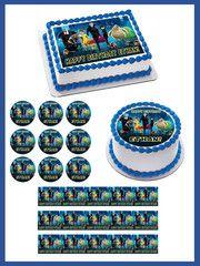 Hotel Transylvania Edible Birthday Cake Topper OR Cupcake Topper, Decor