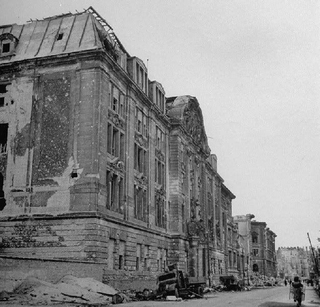 1945 Prinz-Albrecht-Strasse Gestapo Berlin