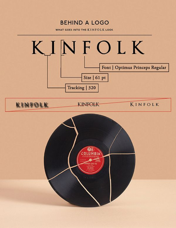 Kinfolk Branding Guide on Behance