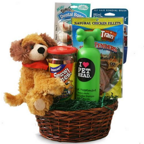 New Pet Owner Gift Basket . . . .actually 20 something ideas for gift baskets for all occasions!