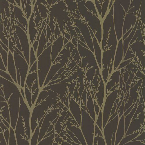 I Love Wallpaper Shimmer Wallpaper Metallic Gold / Brown | eBay