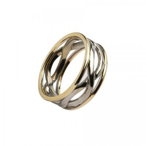 Leopold Infinity Wedding Ring-14K Gold