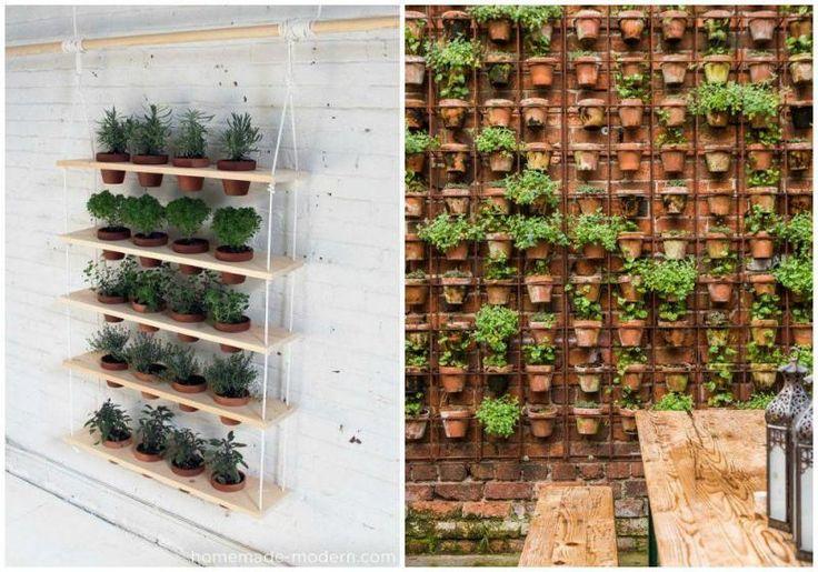 Jardín vertical para casas pequeñas - Contenido seleccionado con la ayuda de http://r4s.to/r4s