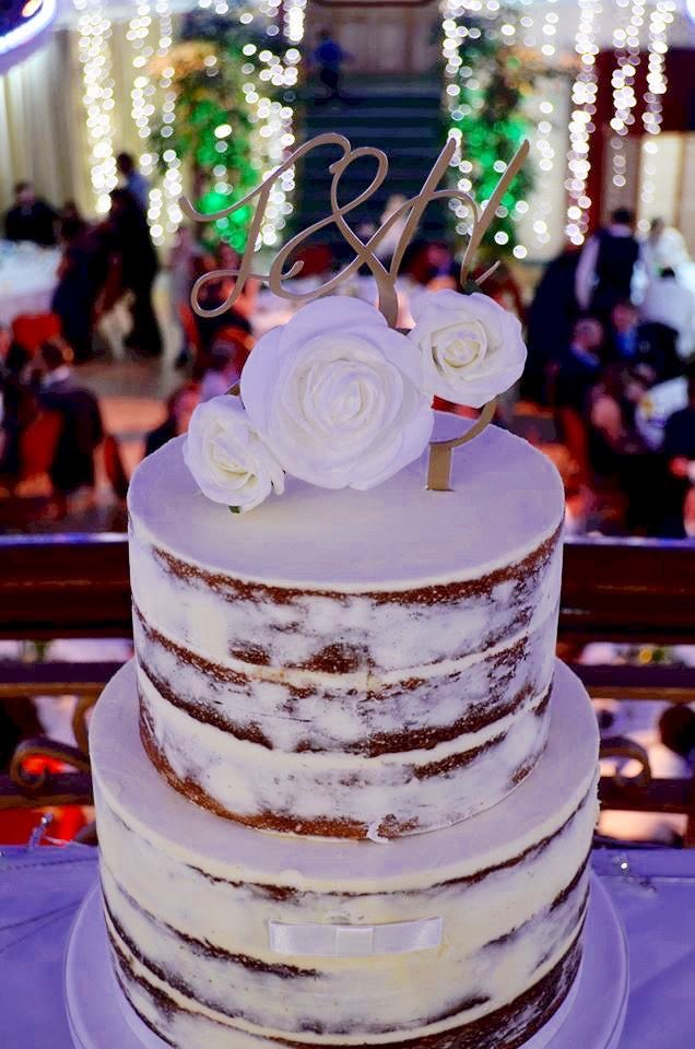 A lovely customer sent me a picture of her wedding cake with her customised topper I designed! you can order yours at www.personalisedbypost2.etsy.com ! How pretty does it look!?