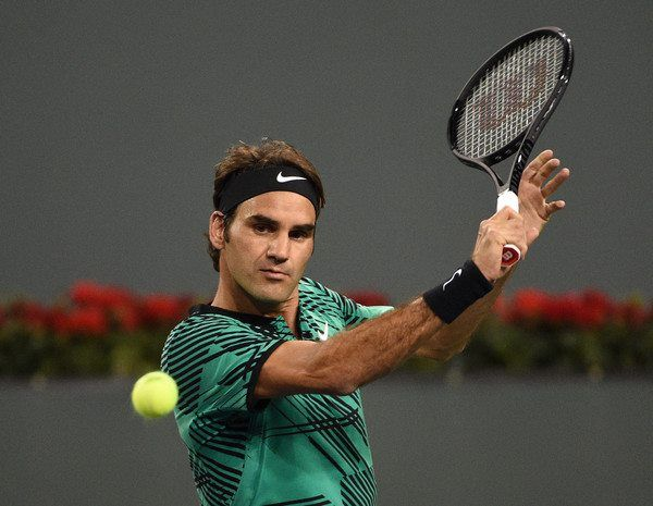 Roger Federer - ATP 1000 Indian Wells - Mars 2017