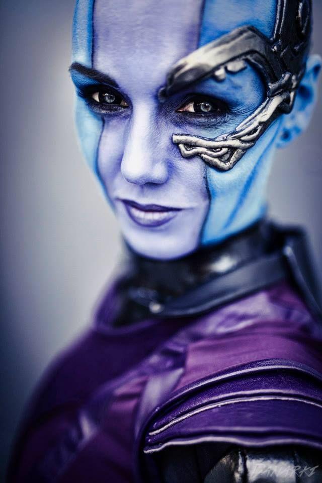 OMG!!! EpicNebula from Guardians of the GalaxybyKarin Olava Effects.Photo byDanarkitaken at Torucon 2014.