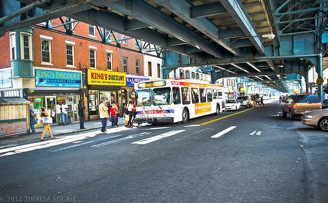 Work 2008-2012 under the El in Kensington, Philadelphia by PhiladelphiaPhotos, via Flickr