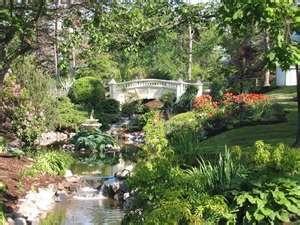 Halifax Public Gardens- A Victorian Gardens in the city core.
