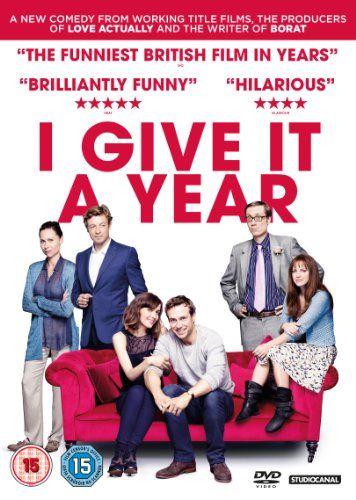 I Give It a Year [DVD] [2013]: Amazon.co.uk: Rose Byrne, Rafe Spall, Stephen Merchant, Dan Mazer: Film & TV
