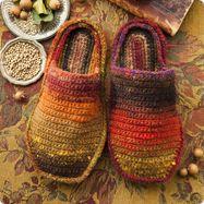 Noro - Crochet Slippers
