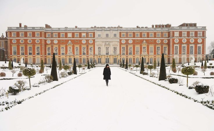 hampton court palace roof in winter - Google Search