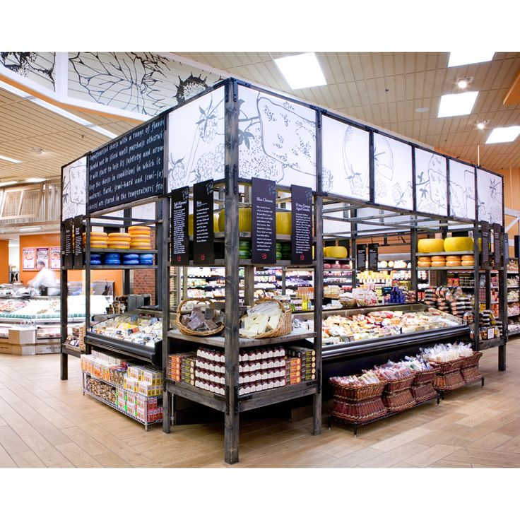Supermarket Design | Retail Design | Shop Interiors | Roche Bros, Westborough, USA