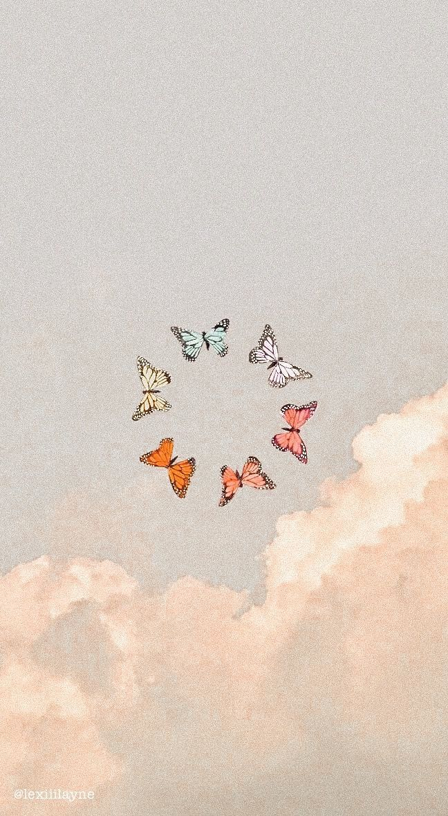 𝚎𝚍𝚒𝚝𝚎𝚍 𝚋𝚢 𝚕𝚎𝚡𝚒𝚒𝚒𝚕𝚊𝚢𝚗𝚎 In 2020 Cute Home Screen Wallpaper Butterfly Wallpaper Iphone Iphone Wallpaper Vintage