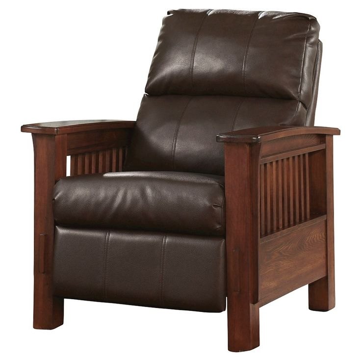 Santa Fe High Leg Recliner - Bark - Signature Design by Ashley, Brown