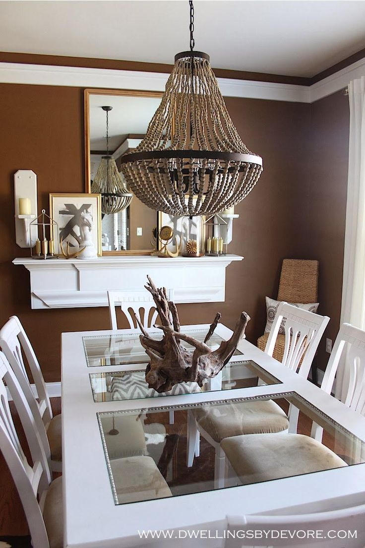 311 best chandeliers images on pinterest chandelier chandelier world market wood bead chandelier arubaitofo Choice Image