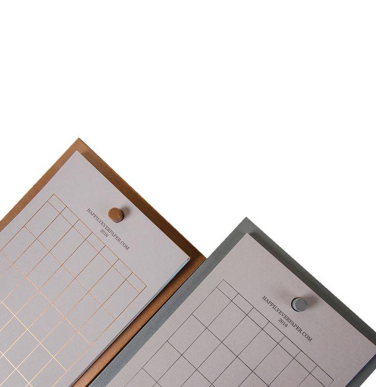 Desktop Calendar No.1 Stationary Happily Ever Paper The Project Garments D