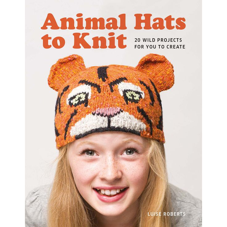 Guild Of Master Craftsman Books-Animal Hats To Knit