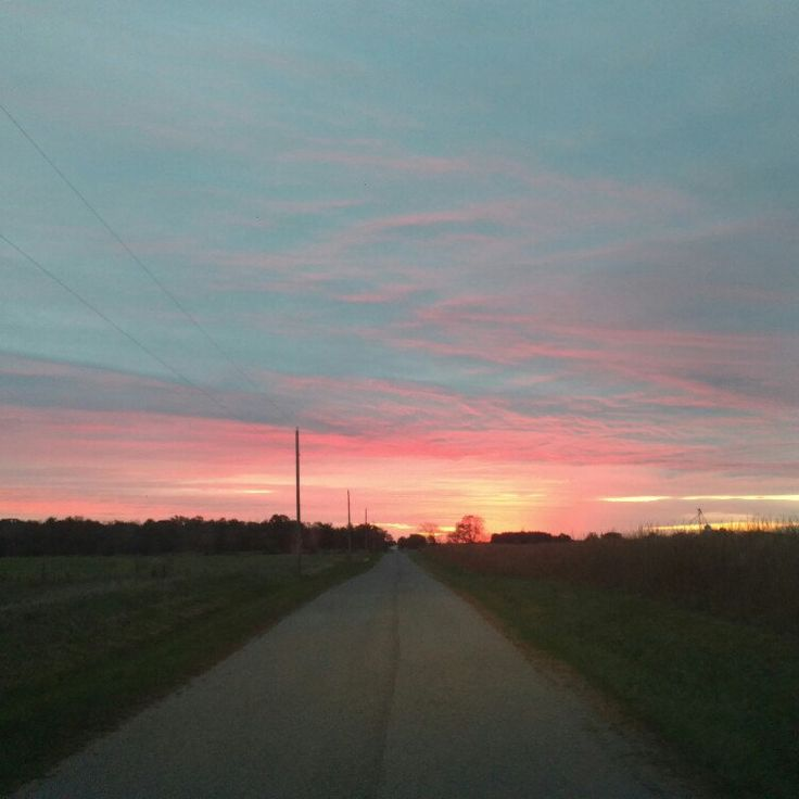 The sunrise today was amazing....