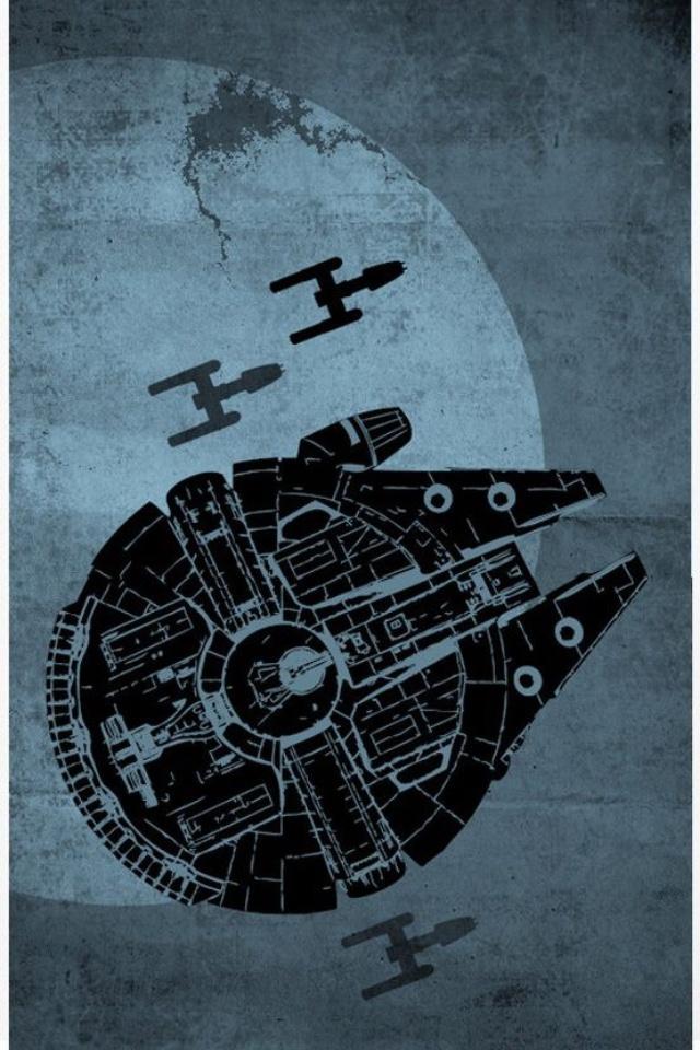 millennium falcon phone wallpaper - photo #18