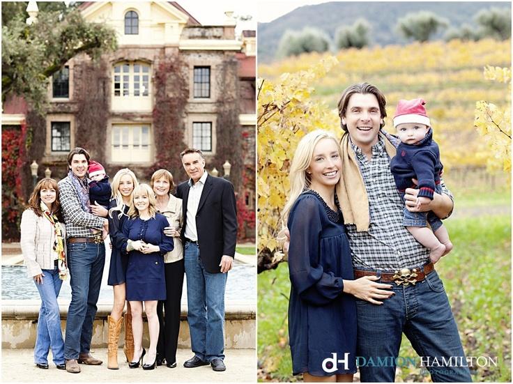 Sweet Family Portraits, Napa Valley, Vineyard