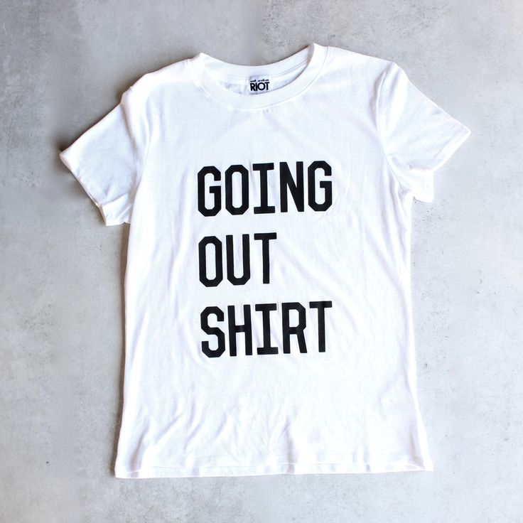 sub_urban riot - going out loose crew neck tee - white - shophearts - 1