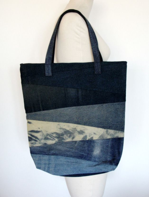 Big Denim Bag #8 - Nudakillers - Torby na ramię, #woman, #bag, #tote, #shopper…
