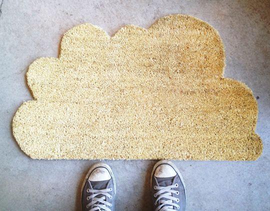 Cloud Doormat & 140 best clouds \u0026 rain images on Pinterest   Cloud Babies rooms and ...
