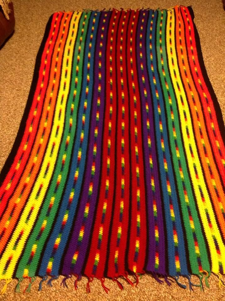 Pin By Paula Moliver On Crochet Crochet Indian Blanket