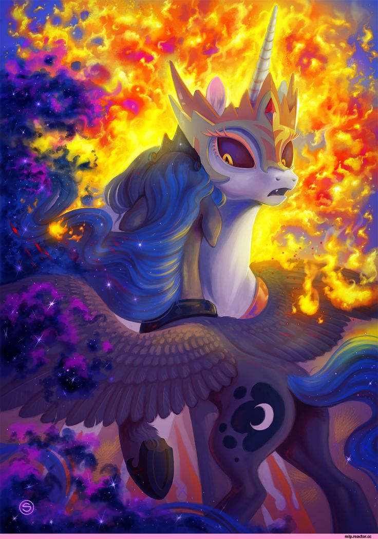 Princess Luna (принцесса Луна) :: Персонажи my little pony королевской крови :: красивые и интересные картинки my little pony (мой маленький пони) :: сообщество фанатов / красивые картинки и арты, гифки, прикольные комиксы, интересные статьи по теме.