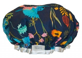 Tonic  shower cap - blue birds
