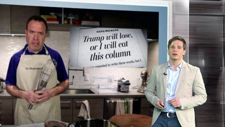 """n-tv Netzreporter: """"Washington Post""""-Kolumnist muss nach Trump-Erfolg Zeitung essen"""