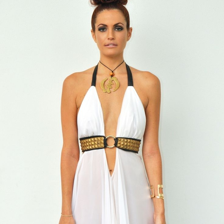 Gladiator Goddess Dress  TMD Collection 2014 Get your custom tailored at  www.tanyamariedesign.com