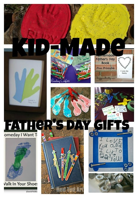 Kid-made father's day gifts