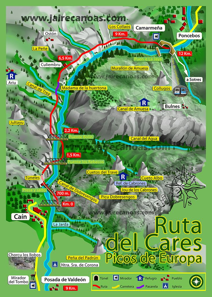 I would really wish and want to go this route. TOUCH esta imagen: Ruta del Cares by Jaire Aventura