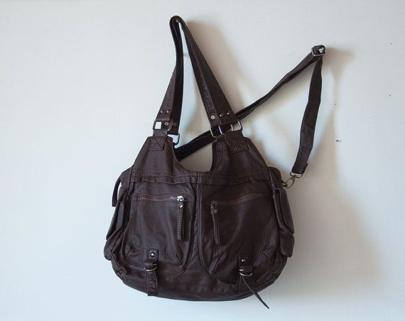 Hey, I found this really awesome Etsy listing at https://www.etsy.com/listing/201763825/vegan-leather-hobo-bag-leather-hobo